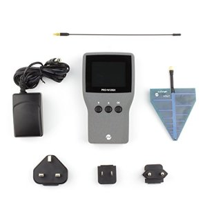 Détecteur de fréquence radio/Pro-w10gx/6,3cm LCD écran/large gamme de fréquences/Détection de signaux numériques et analogiques