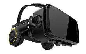 Hi-SHOCK X4 Casque de réalité virtuelle pour smartphones Android 4,7 – 6,2 pouces – vidéos 3D de réalité virtuelle 360 et SBS – adapté aux jeux VR Playstore