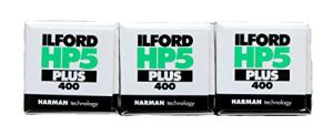 Ilford HP5Plus 400ASA 120mm Lot de 3