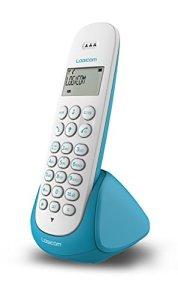 Logicom Aura 150 Téléphone fixe sans fil Turquoise