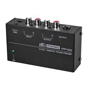 Lopbinte Ultra-Compact Préamplificateur Phono Préamplificateur Préamplificateur Phono (EU Plug)