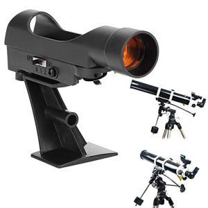 Mavis Laven Télescope de télescope Star Pointer, viseur en Point Rouge Scope Star Finder pour télescope Astro Celestron 80EQ 80 / 90DX Se
