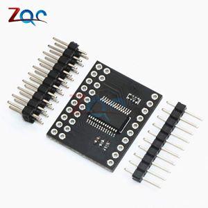 Module d'interface série MCP23017 SPI MCP23S17 Broches d'extension d'E/S 16 bits bidirectionnelles Module d'interface série 10 MHz