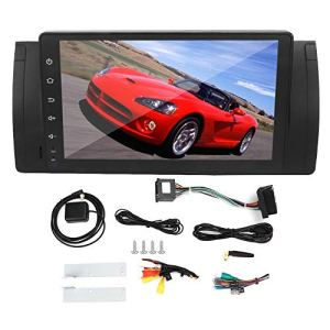 MP5 Player, 9in 2Din Car MP5 Stereo Audio Video 2G + 16G 4 Cores for Android 9.0 Built-In for Canbus Fits for X5 525i 530i 1999 2000 2001 2002 2003 2004 2005 2006