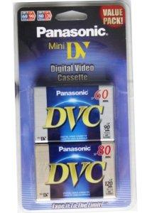 Panasonic Mini Cassette vidéo numérique