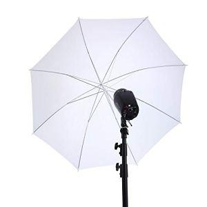 Réflecteur de Lumière Parapluie réflecteur de lumière multi-disques de 40 pouces avec support de parapluie à 8 torons Parapluie souple direct Design Portraits Objet Prise de vue de produit Réflecteurs