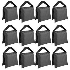 ShiningXX Lot de 2/12 sacs de sable photographique pour photophores, bras et trépied