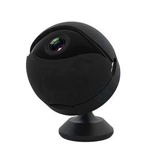 Shykey Mini Caméra De Sport 1080P, avec Vision Nocturne Super Infrarouge, Conversion Jour Et Nuit, Fonction De Détection De Mouvement, Adaptée À La Maison Et Au Bureau