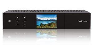 VU+ 13300-579 Duo 4K Récepteur UHD avec 1 x DVB-S2X FBC Twin Tuner Fonction PVR Linux 2160p