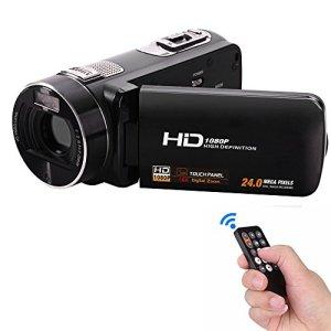 Winait Full Hd 1080p Caméra vidéo numérique à usage domestique avec écran tactile 3,0 pouces Mini Dv