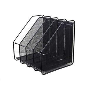 Classé Rack Storage Magazine, Porte décoratif Journal for Les périodiques, Livres ou tablettes – CD Box Cas de Stockage (Size : Four-Tier Design)