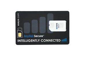 Eseye AnyNet Secure SIM Card – global cellular connectivity exclusively for IoT/M2M devices. Large box of 200 Standard (2FF)/Micro (3FF) SIMs.