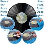 Kit de nettoyage professionnel pour disque vinyle – Tout ce dont vous avez besoin, y compris une brosse anti-statique pour nettoyer, protéger et rénover vos disques vinyle.