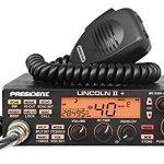 Président Radio CB Lincoln II ASC, Roger BEP, ANL, NB, Filtre Coupe-Haut, AM-FM-USB-LSB-CW, Programmable, 12V