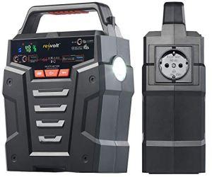 revolt Batterie Nomade 75 Ah & convertisseur Solaire avec Prises 230 V/12 V/USB HSG-750