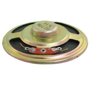 sourcingmap 5.1cm Diamètre Rond Interne Magent Haut-parleur Trompette Corne 8 Ohms 0.5W