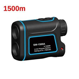 Telescope Laser Range Finder 600m 1000m 1500m monoculaire Metro Télémètre Laser pour la Chasse numérique Bande Laser Mesure (SW-1500A)