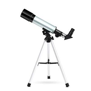 Telescope Star Finder Monocular Travel Scope for Kids and Beginner 50mm with Tripod Practical