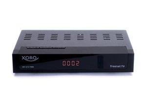 Xoro HRT 8772Twin Hybride DVB-C/DVB-T/T2Receive pour télévision par câble et antenne numérique Noir