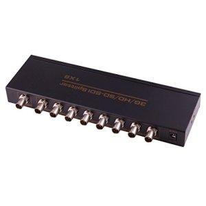 ZHANGJIALI Jiali Series Computer Haute Vitesse SDI Video Splitter NEWKENG 918 SD-SDI/HD-SDI / 3G-SDI 1X8 Splitter Adaptateur vidéo