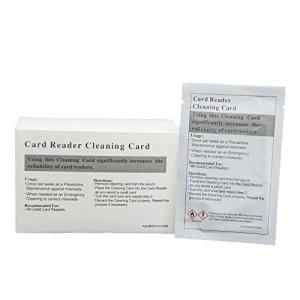 50pk Presaturated simple Tête Cartes de nettoyage (Double Face)