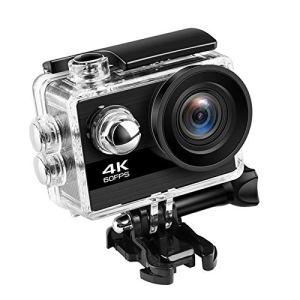 Appareil Photo Sport Ultra HD 4K 60Fps 24MP WiFi Sport Camera 2.0 Pouces IPS Écran 170D Grand Angle De Vision Caméscope Étanche Sport Professionnel