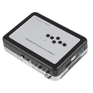 Cassette Player – Cassette Recorder Capture MP3 Audio Music Via USB Portable Tape Player USB Flash Drive Capture Audio Music Player, Plug and Play