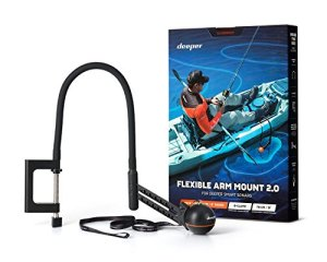 Deeper – Bras Flexible Deeper 2.0 – Nouveau design pour une meilleure utilisation sur votre kayak ou Float tube