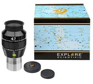 Explore Scientific – 0218804 – 82° AR Oculaire avec revêtement EMD de qualité supérieure et garni de gaz de protection