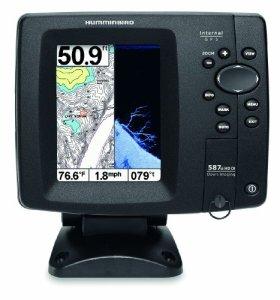 Humminbird 587CXI HD DI Combo Colour GPS/Traceur/sondeur avec Technologie Down Imaging Noir 5 Pouces