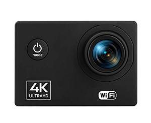 HYZY Caméra Sportif Sport Étanche DV 4K60FPS WiFi Sports De Plein Air Caméra De Plongée