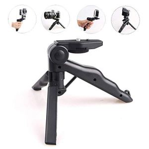 Lanilianhuqa Mini trépied de téléphone portable et réglable compatible avec téléphone portable, téléphone Android, appareil photo, caméra de sport