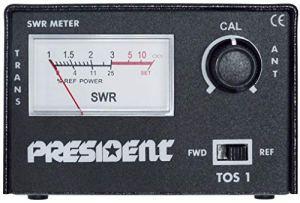 President Réflectomètre TOS-1 / Power-Meter