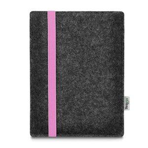 stilbag Liseuse Leon pour Amazon Kindle Oasis (. Generation), Feutre Anthracite–Bande de Caoutchouc Rose