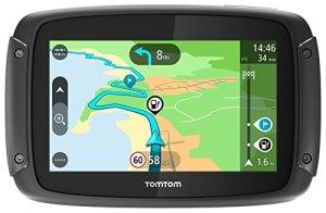 TomTom Rider 420GPS (Écran cleveres, mises à jour de cartes, l'Europe 48Mise à jour du Pays, Traffic, Radar caméras, mains libres) Noir
