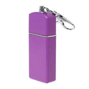 YO-HAPPY Outdoor Mini Pocket Ashtray,Key-Chain,Portable Smoking Accessory