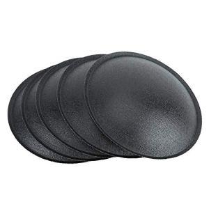 Yunir 10Pcs Capuchon Anti-poussière pour Haut-Parleur, Accessoire de Haut-Parleur de 75 mm pour décorer Le Haut-Parleur, Beau et généreux