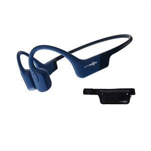 AfterShokz Aeropex, Casque à Conduction Osseuse Écouteur Bluetooth sans Fil,Oreille Ouverte(Open-Ear), Écouteur Sport Étanche IP67, Bleu Eclipse