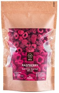 Brix, Grown For Flavour Fruits framboises lyophilisés (85G)