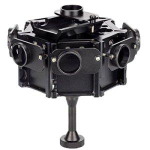 Caméra Aluminium Boîtier de Protection Case Cage de Protection for boîtier en Alliage d'aluminium CNC 8 en 1 avec vis for GoPro HERO4 / 3 + (Noir) (Color : Black)