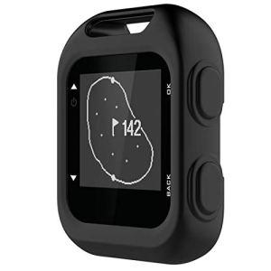 CIB Étui de Protection en Silicone AYSM for Garmin Approach G10 Golf (Vert armée) (Color : Black)