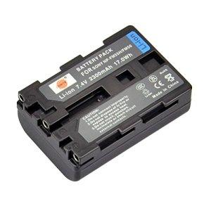 DSTE Rechange Batterie pour Sony NP-FM50 NP-FM55H CCD-TR108 CCD-TR208 CCD-TR408 CCD-TR748 CCD-TRV106 CCD-TRV107 CCD-TRV108 DCR-PC103 DCR-PC104 DCR-PC105 DCR-PC110 PC115 PC120 DCR-PC300 PC330 DCR-TRV30