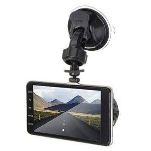 Enregistreur de conduite à 4 objectifs avant et arrière à double objectif HD 1080p de voiture Dvr Edr Dashcam avec capteur G