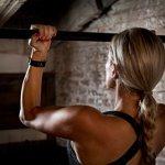 Garmin Vivosport – Bracelet de Sport avec GPS et Cardio Poignet – Taille S/M – Noir/Gris Anthracite (Reconditionné)