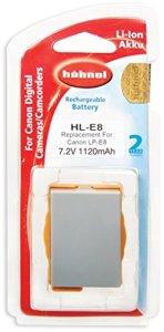 Hahnel HLE8 Batterie Li-Ion équivalente Canon LP-E8 7,2V 1120 mAh