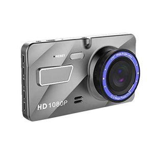 INTER RAPIDE HD Enregistreur de conduite 1080P A10 double objectif avant et arrière synchrone caméra vidéo de voiture grand angle objectif