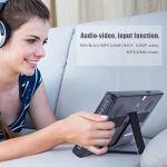 JULYKAI Super Slim Fashion Design Digital TV, 10 Pouces HD Couleur TFT LED TV, Support PVR, pour Les Voyages