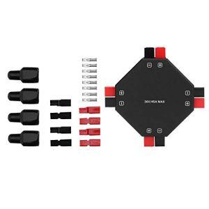 Kit de répartiteur d'alimentation, répartiteur d'alimentation à 4 canaux, composants électroniques Universal Power Splitte, pour répartiteur d'alimentation