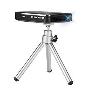 LILL Mini projecteur 4K Noir X3 Téléphone Portable Compagnon HDMI Entrée Mini Projecteur Portable Prend en charge 854 X 480 (Prise britannique), Prise britannique., 9.8×7.8×1.8cm
