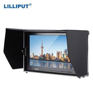 LILLIPUT BM280-4K 28 POUCES Broadcast HD Ultra-4K moniteur vidéo 3840 * 2160 résolution 3G-SDI HDMI 1000: 1 contraste élevé écran LED avec mallette de transport + un tissu de nettoyage